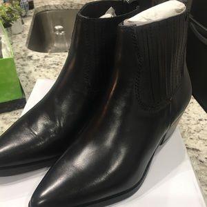 NIB Steve Madden Leather Booties (Stars on back)